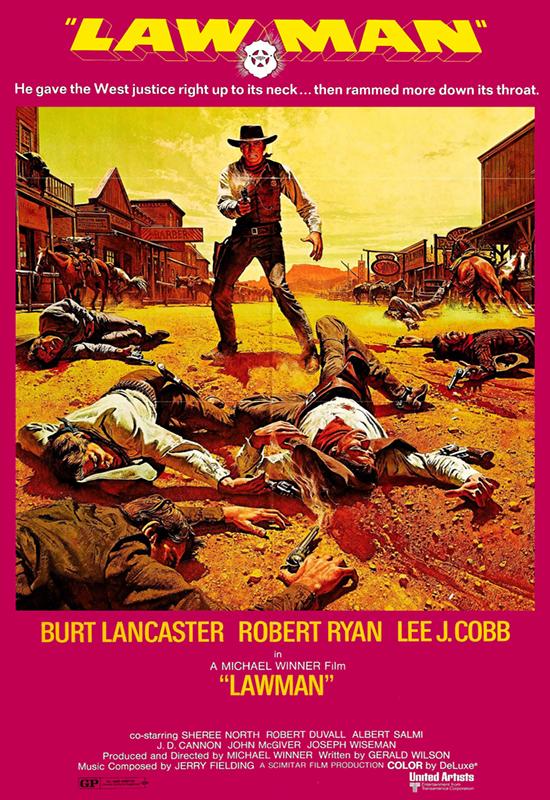 Burt Lancaster in Lawman (1971)