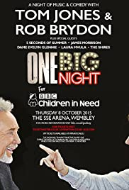 One Big Night for Children in Need Poster