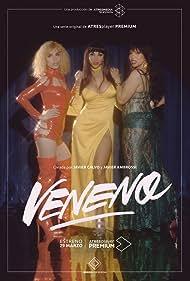 Daniela Santiago, Isabel Torres, and Jedet in Veneno (2020)