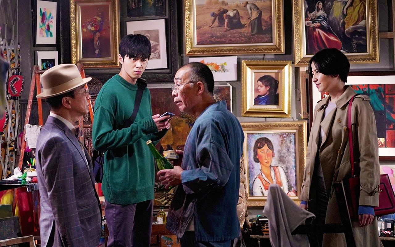 Denden, Fumiyo Kohinata, Masami Nagasawa, and Masahiro Higashide in The Confidence Man JP (2018)