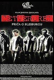 Ivan Marevich, Sreten Mokrovic, and Ranko Zidaric in Cetverored (1999)