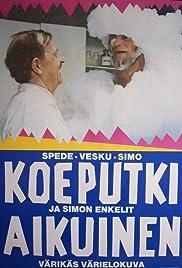 Koeputkiaikuinen ja Simon enkelit Poster