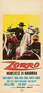 Watch free movie database Zorro marchese di Navarra [WEBRip]