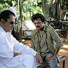 Rajinikanth and Suman in Sivaji (2007)