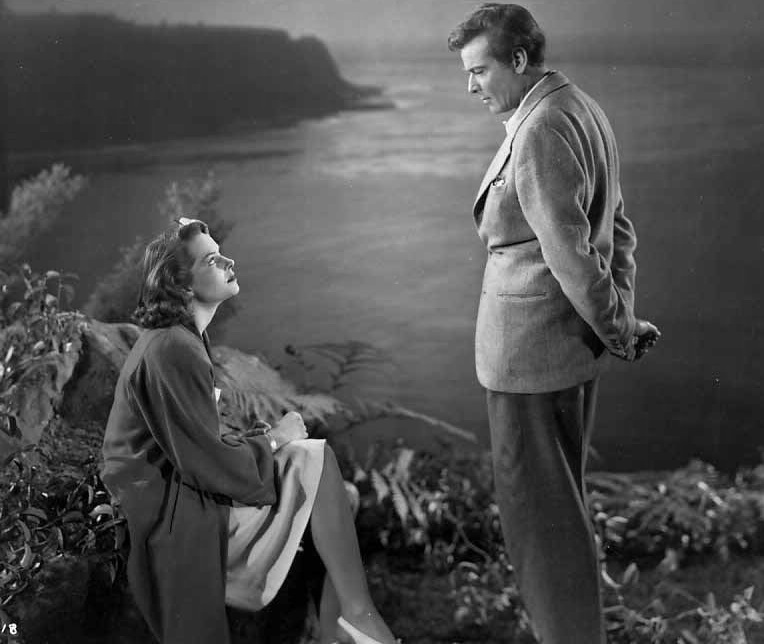 Nils Asther and Jane Randolph in Jealousy (1945)