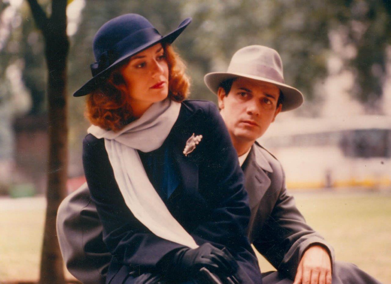Giorgos Kimoulis in O kitrinos fakellos (1991)