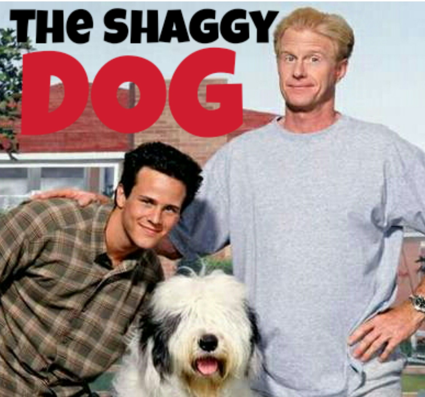 Ed Begley Jr. and Scott Weinger in The Shaggy Dog (1994)