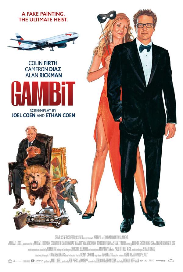 Milijardierius ir blondinė / Gambit (2012) Online