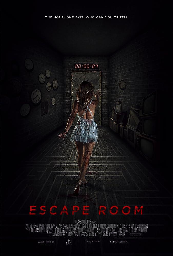 Escape Room (2017) English 720p BluRay Full Movie