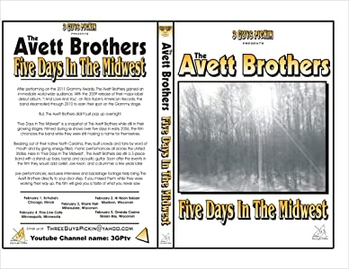 Best website for movie downloads for free The Avett Brothers: Five Days in the Midwest [4K]