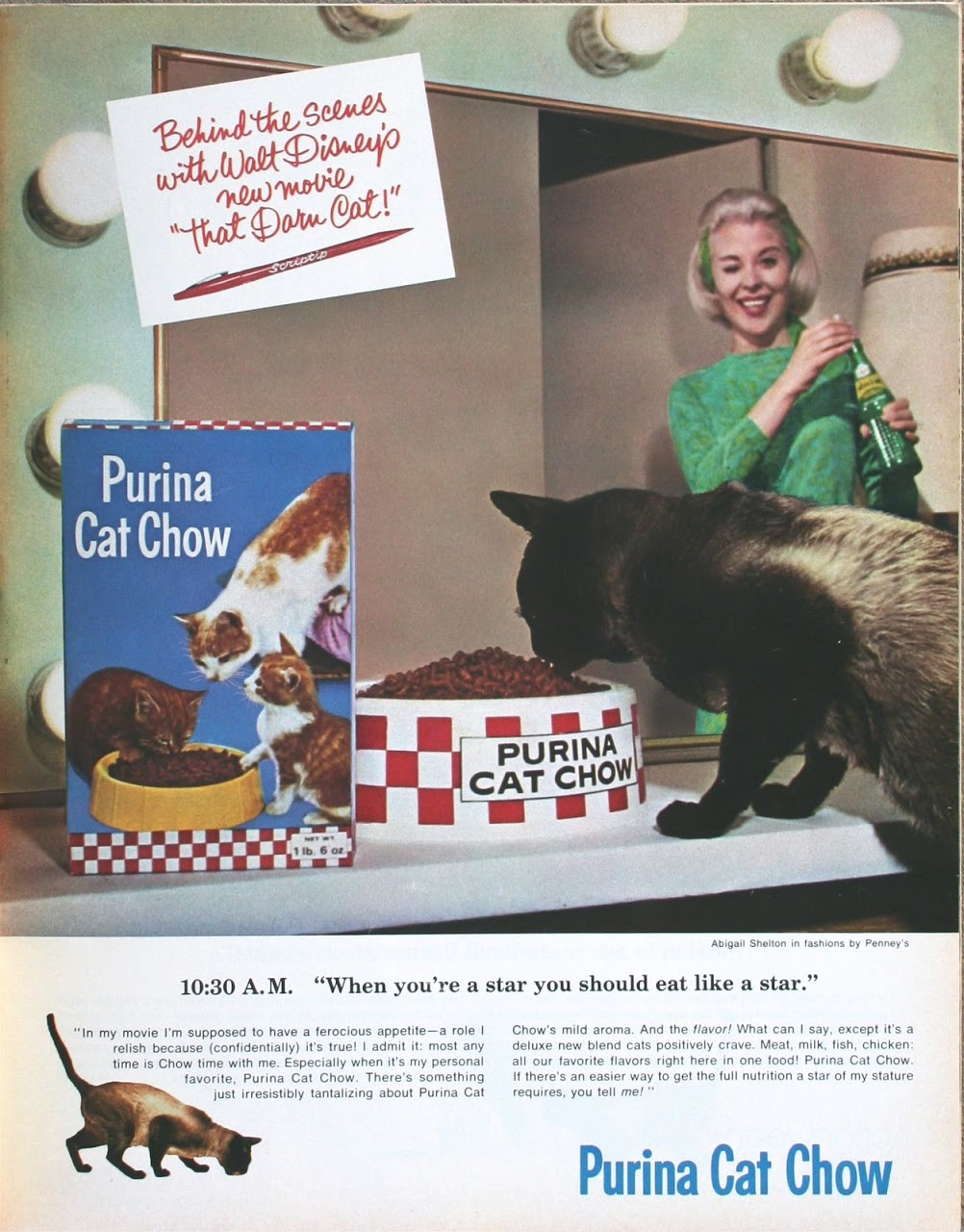 Abigail Shelton and Syn Cat in That Darn Cat! (1965)