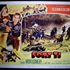 George Montgomery and Joan Vohs in Fort Ti (1953)