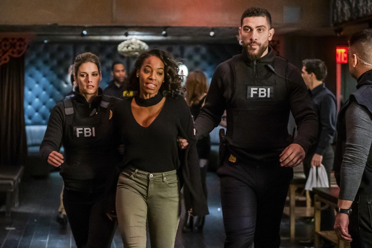 Milauna Jackson, Missy Peregrym, and Zeeko Zaki in FBI (2018)