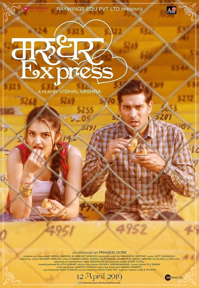 Marudhar Express (2019) Hindi 720p HDRip x264 AAC 350MB ESub