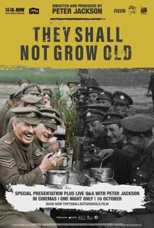They Shall Not Grow Old (2018) 720p WEb-Dl – Recommend