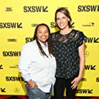 Amy Adrion and Tina Mabry at an event for Half the Picture (2018)