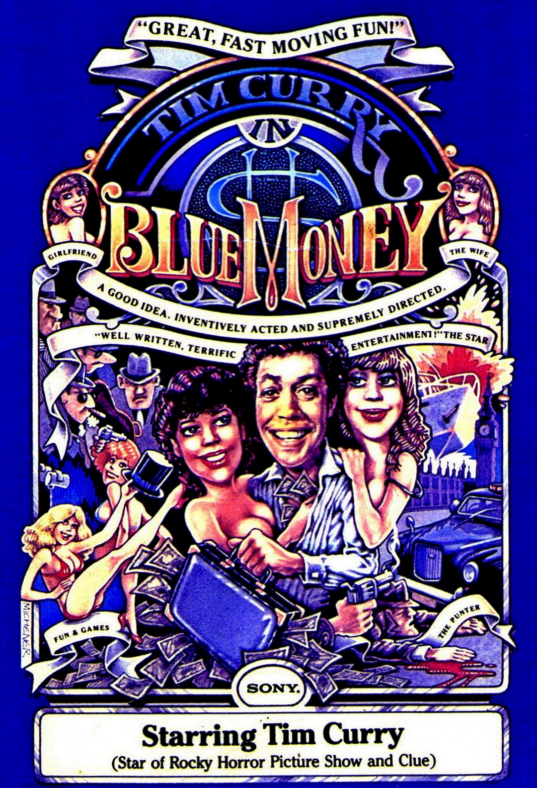Blue Money Tv Movie 1985 Imdb