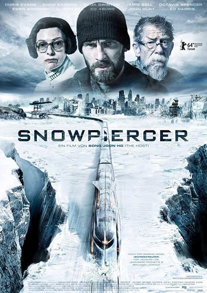 Snowpiercer (2013) BluRay 720p 900MB ( Hindi – English ) Esubs MKV