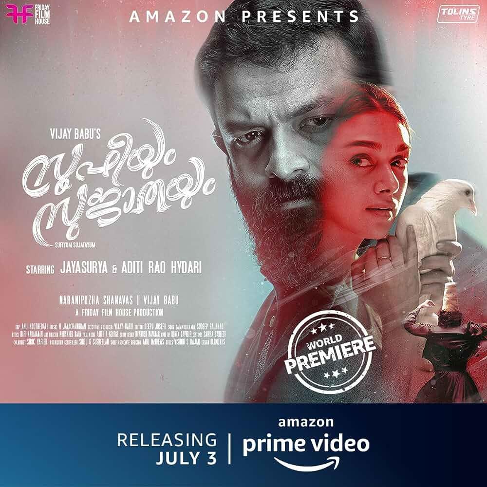 Sufiyum Sujatayum (2020) Malaylam 720p HDRip x264 AAC ESubs Full Malaylam Movie (1.4GB) Full Movie Download