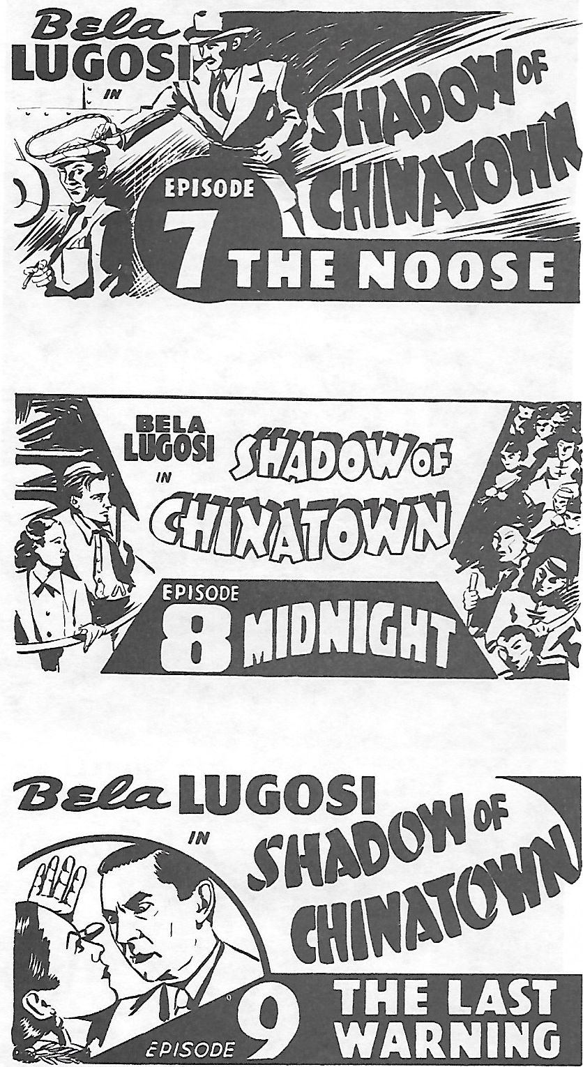 Bela Lugosi and Joan Barclay in Shadow of Chinatown (1936)
