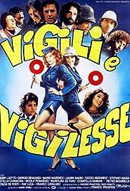 Vigili e vigilesse Poster