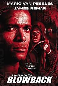 James Remar and Mario Van Peebles in Blowback (2000)