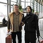 Oleg Taktarov and Tomohisa Yamashita in The Man from Toronto (2022)