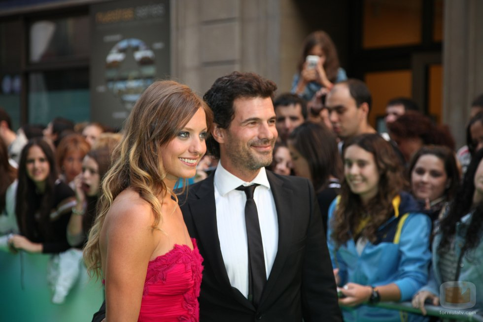 Rodolfo Sancho and Michelle Jenner at an event for Isabel (2011)