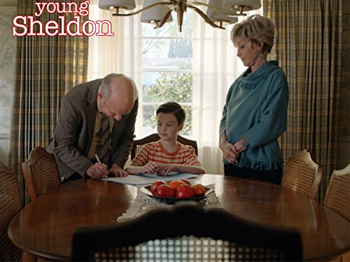 Joven Sheldon 1×22 – Helado de vainilla, caballeros que llaman y un juego de comedor