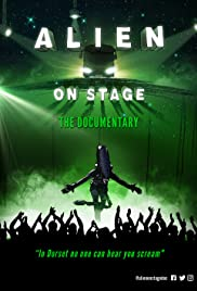 Alien on Stage Poster