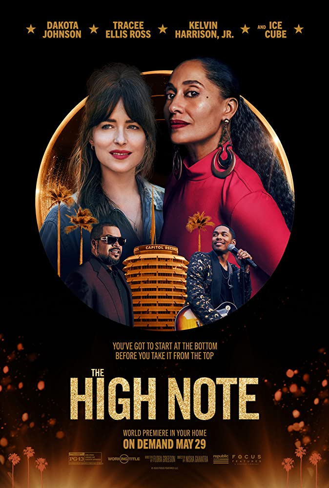 Dakota       Johnson and Tracee Ellis Ross in The High Note (2020)
