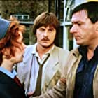 Michael Elphick, Trevor Eve, and Celia Imrie in Shoestring (1979)
