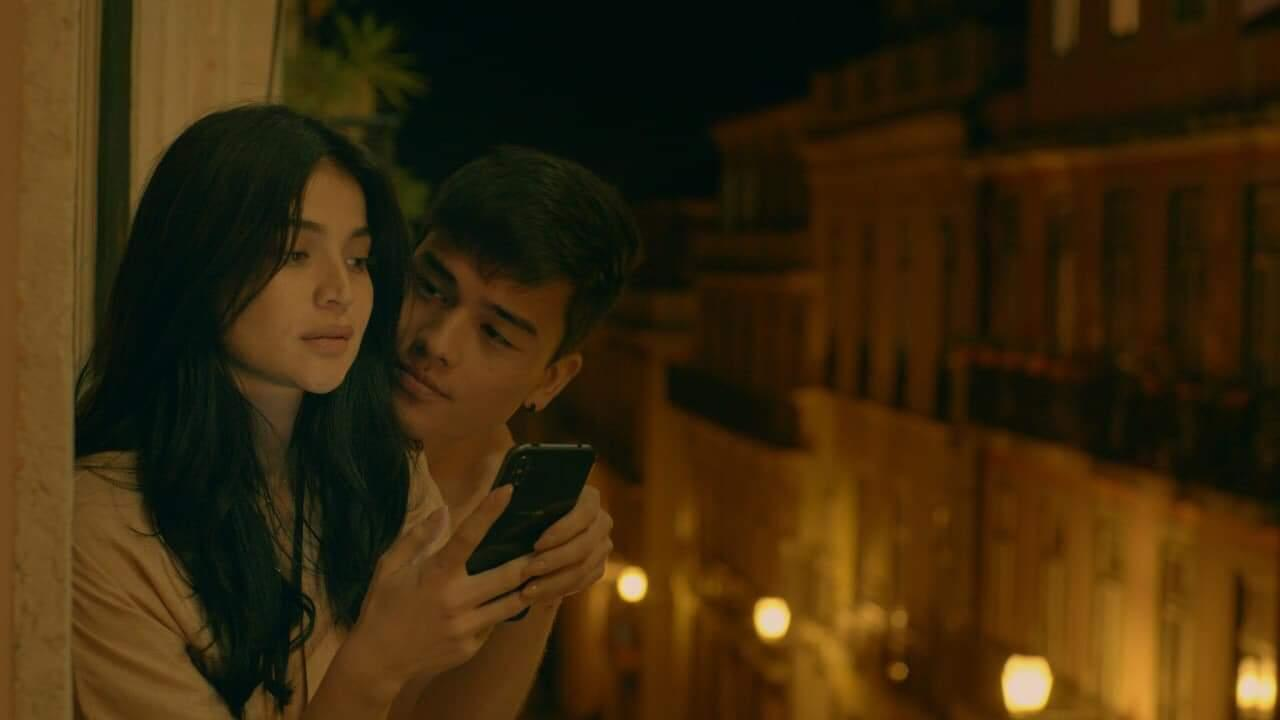 Anne Curtis and Marco Gumabao in Just a Stranger (2019)