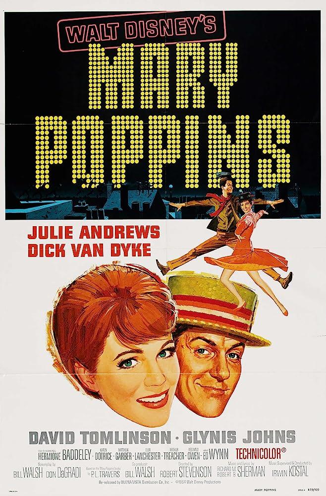 De film Mary Poppins komt uit 1964, maar wist een aantal goede technieken toe te passen
