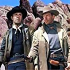 Randolph Scott and Lee Marvin in Hangman's Knot (1952)