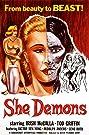 She Demons (1958) Poster