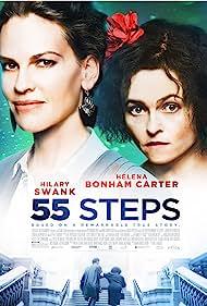 Helena Bonham Carter and Hilary Swank in 55 Steps (2017)