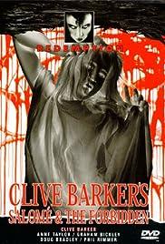 Clive Barker's Salomé & The Forbidden Poster