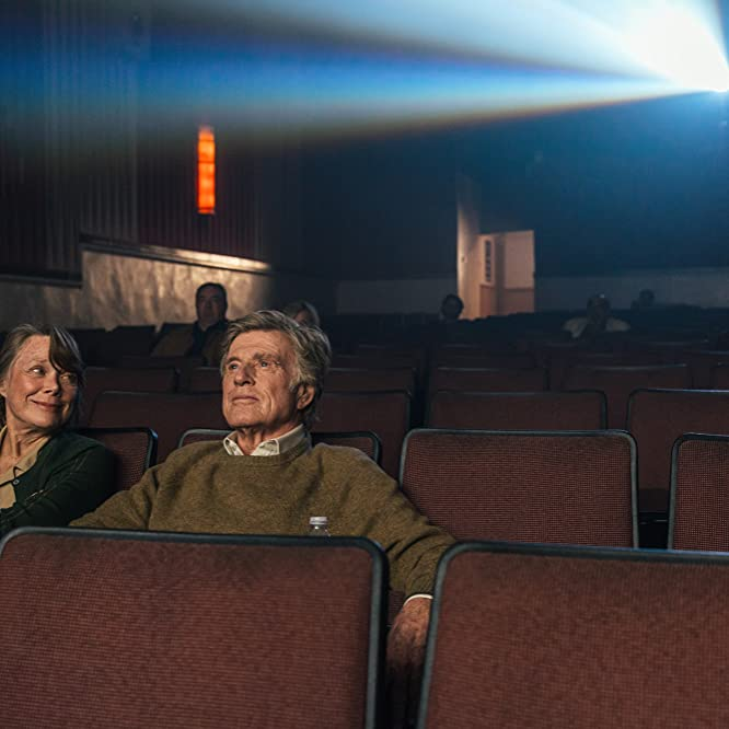 Robert Redford and Sissy Spacek in The Old Man & the Gun (2018)