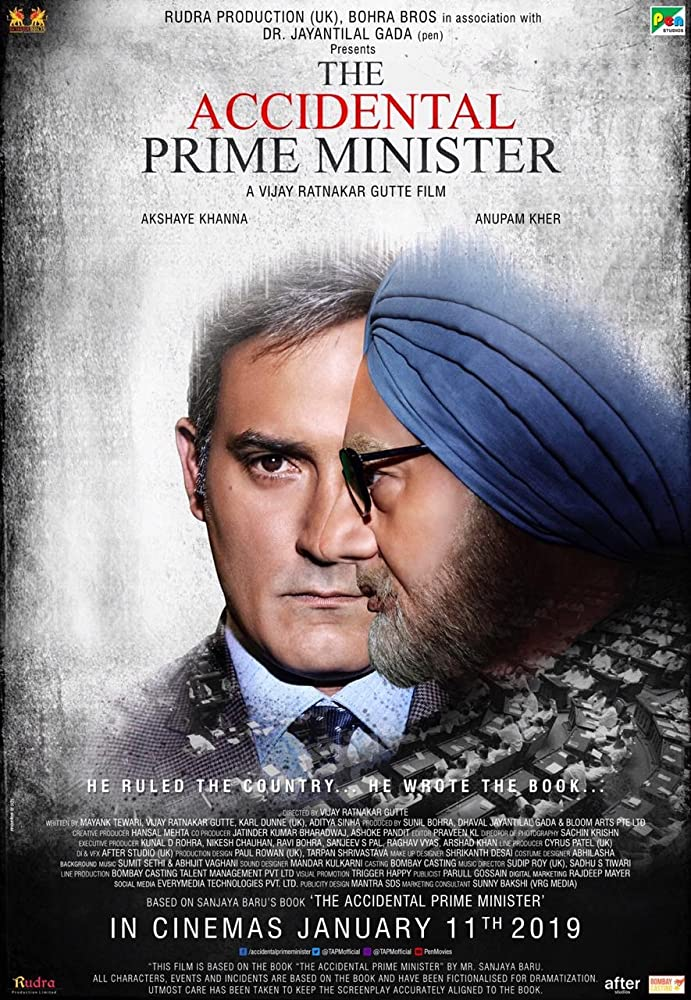 The Accidental Prime Minister (2019) Hindi 300MB | 700MB | 1.5GB DVDScr 480p | 720p | 1080p x264