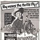 Roy Rogers, Dale Evans, and Pinky Lee in South of Caliente (1951)