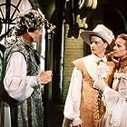 Matej Hádek, Boris Rösner, and Tereza Groszmannová in O trech ospalých princeznách (1998)