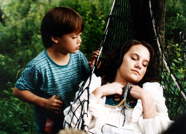 Ivana Skarková and Pavel Zednícek in Ranc U Zelené sedmy (1996)