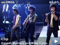 Hannah Montana and Miley Cyrus: Best of Both Worlds Concert -- Clip: The Jonas Brothers, post