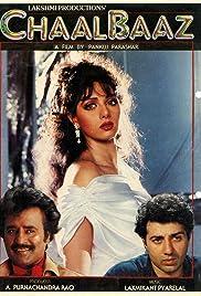 Chaalbaaz 1989 Hindi Movie JC WebRip 400mb 480p 1.3GB 720p 4GB 13GB 1080p