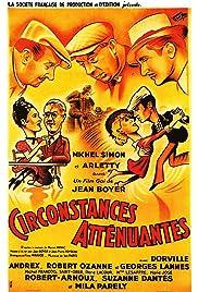 Circonstances atténuantes Poster
