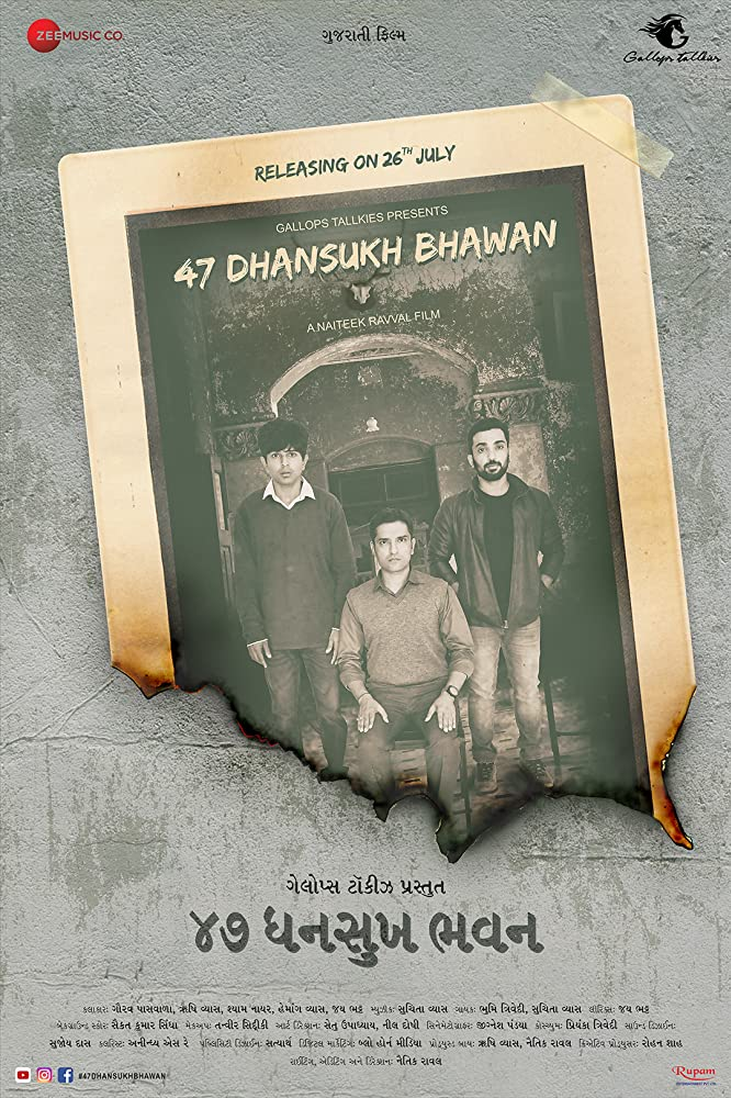 47 Dhansukh Bhawan 2019 Gujrathi 333MB WEB-DL Download