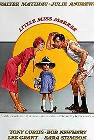 Julie Andrews, Walter Matthau, and Sara Stimson in Little Miss Marker (1980)