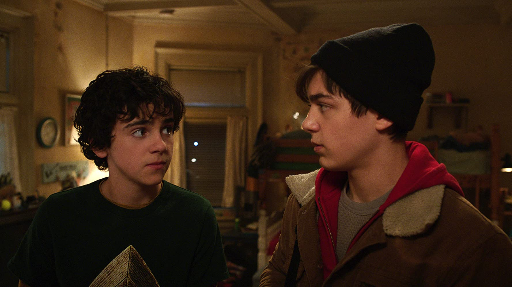 Asher Angel and Jack Dylan Grazer in Shazam! (2019)
