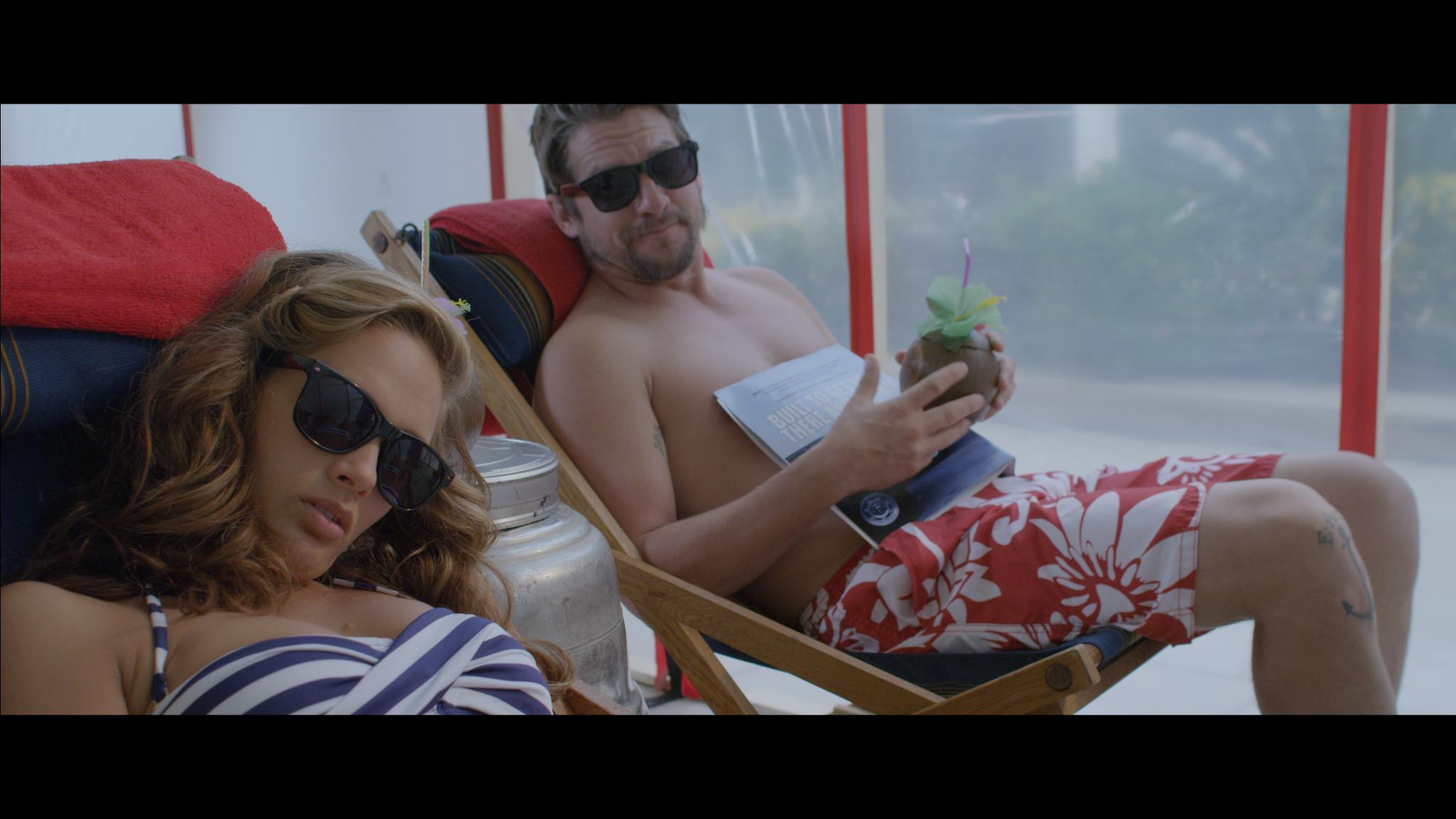 Zachary Knighton and Jessica Dykstra in Hot (2016)